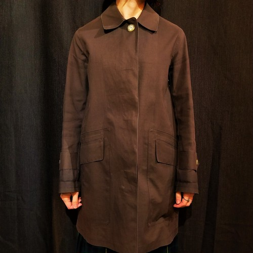 Mackintosh rubber-coated coat /Made In Scotland [1488]