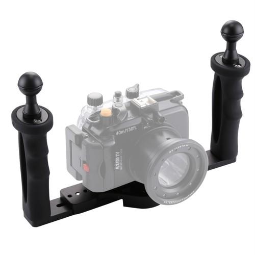 Puluz社・防水ケース 装着用 デュアルハンドル