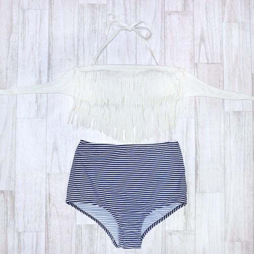 SALE‼︎7500円→4500円 Fringe High Waist Bikini (フリンジハイウエスト 水着)