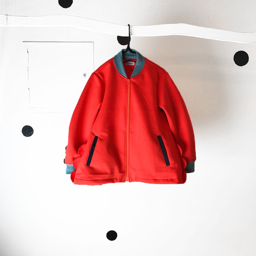 DOUBLE KNIT WAVE JACKET