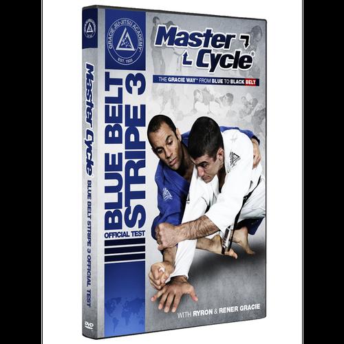 予約注文受付中 マスターサイクル:ブルーベルトストライプ3 オフィシャルテスト|グレイシー柔術DVD
