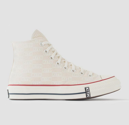 Kith x Converse All Star Chuck'70 High Top White