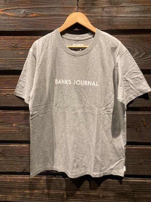 Banks Journal  LABEL PRIMARY H.Grey  Lサイズ ATS0575
