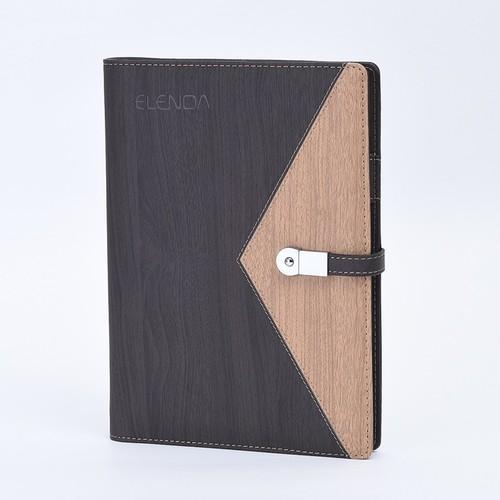 システム手帳ELENOA(エレノア)Ver.1.0モバイルバッテリー(10000mAh)・USBメモリー内蔵(8GB)