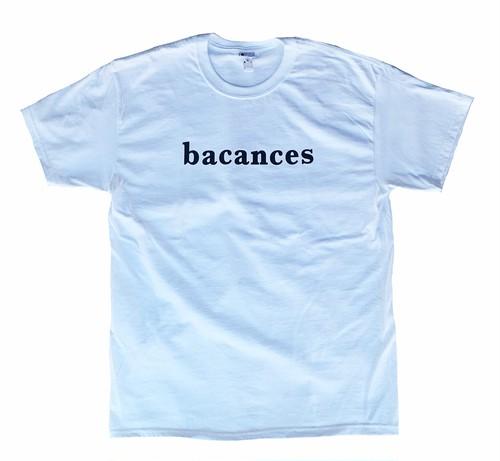 BACANCES LOGO TEE WHITE L