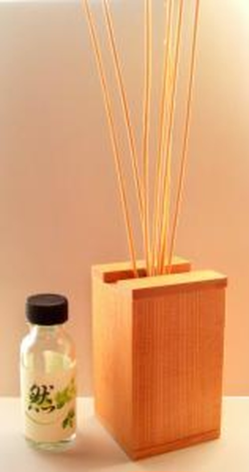 天然木箱のアロマディフューザー -和series- & -虫除けアロマ- 40%off
