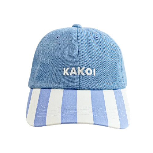 KAKOI Dad Cap ver.Stripe BLUE