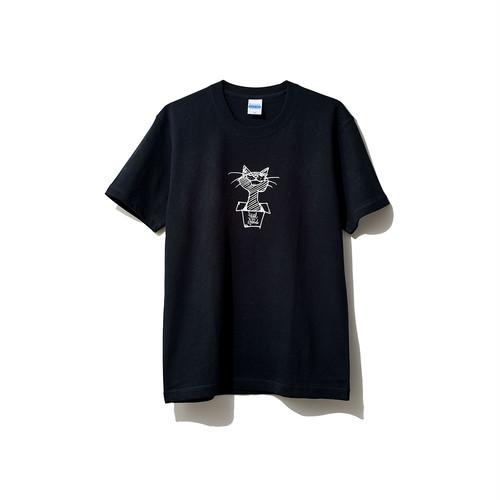 hntbk2024 Maskita Laba feel so good TシャツBLACK