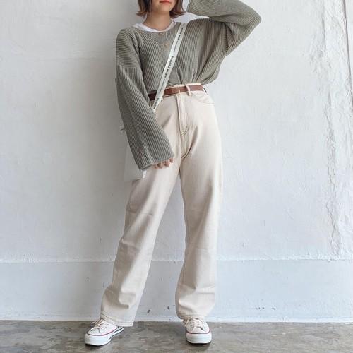 2way knit tops《S-36》