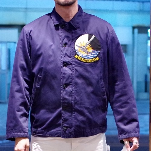 1960s US NAVY Utility Jacket / Size 44 / Good Condition !!!
