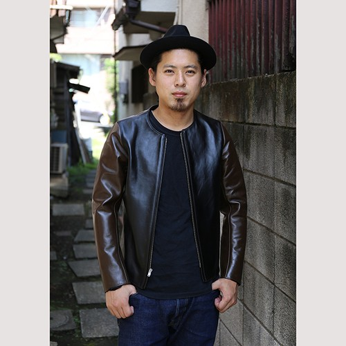 FINE CREEK LEATHERS & Co. Bud/バド Brown/Black [ACJK001]