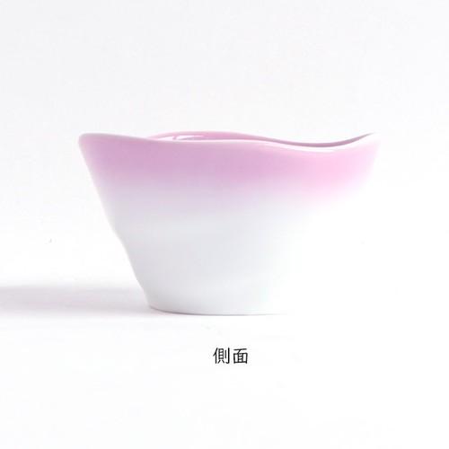 【2959-2750】ろくべい小鉢(口径9.0×高さ5.2cm) ぼかし紫