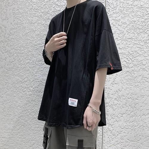 タグスリットTシャツ BL5946