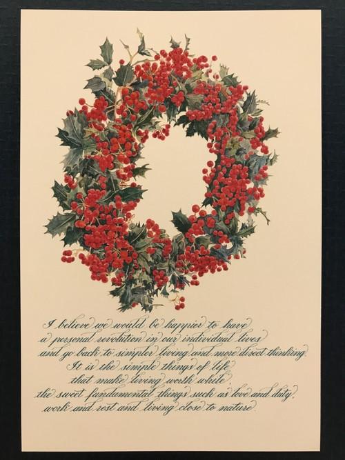 ポストカード  Wreath6