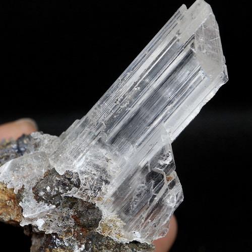 セレナイト 結晶 透石膏 メキシコ産  68,9g SLN001  鉱物 天然石 パワーストーン 原石 標本