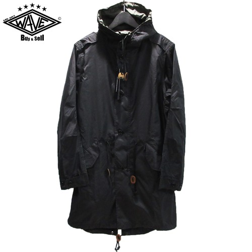 uniform experiment 16SS HOODED MILITARY COAT