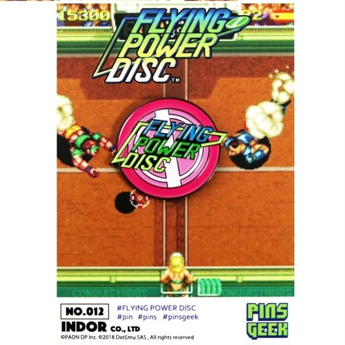 データイースト PINS GEEK FLYING POWER DISC / ANIPPON