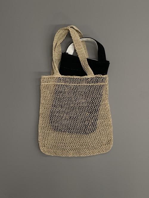 ラオスの葛編みネットバッグ