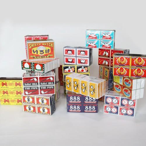 並型商標マッチ 12個パック