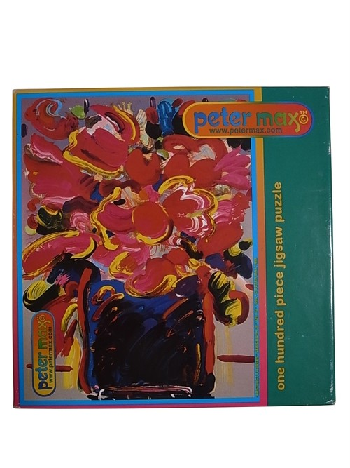 DEAD STOCK PETER MAX 90'S JIGSAW PUZZLE