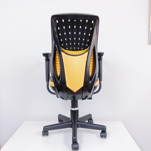 TK-Z8500 椅子 オフィスチェア  イエロー 日本国内生産