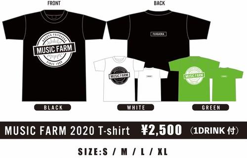ドネーション限定MUSIC FARM Tシャツ
