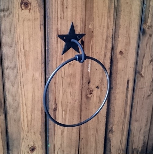 星のタオルリング