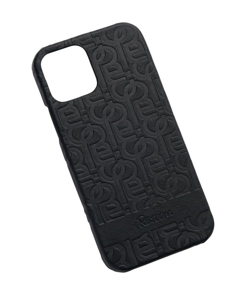 GENUINE LEATHER MONOGRAM iPhone12 Pro CASE[REG123]