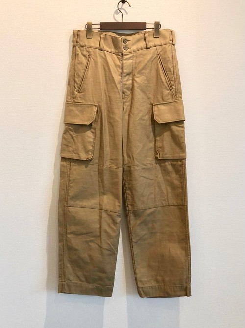 FRENCH ARMY PANTS (DESERT BEIGE) / LOST CONTROL