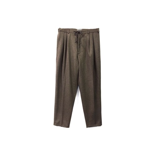 yotsuba - Wide Slacks / Brown ¥21000+tax