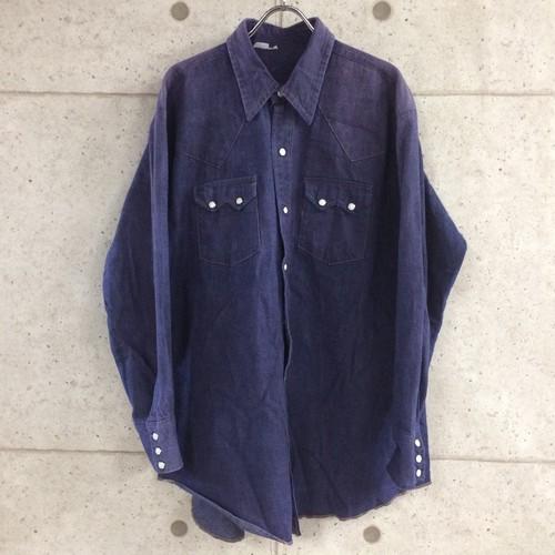OLD unknown デニムシャツ size:17-33