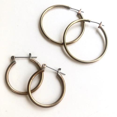 Vintage hoops B-079 S