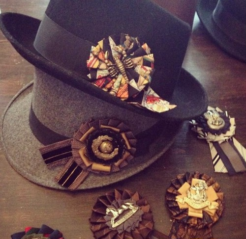 【Run Rabbit Run Vintage】vintage rosette