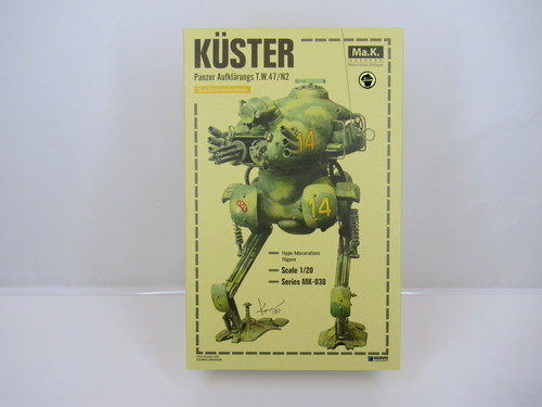KUSTER - SF3D/MA.K - WAVE 1/20 Plastic Model Kit MK-038