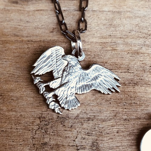 Eagle Landing One Dollar Coin Necklace