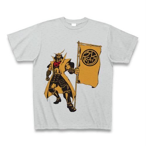 LET'S KENDO!! 将軍Tシャツ(黄)/ボディーグレー
