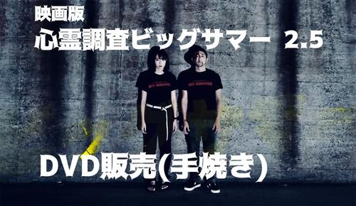 映画版「心霊調査ビッグサマー2.5」DVD販売