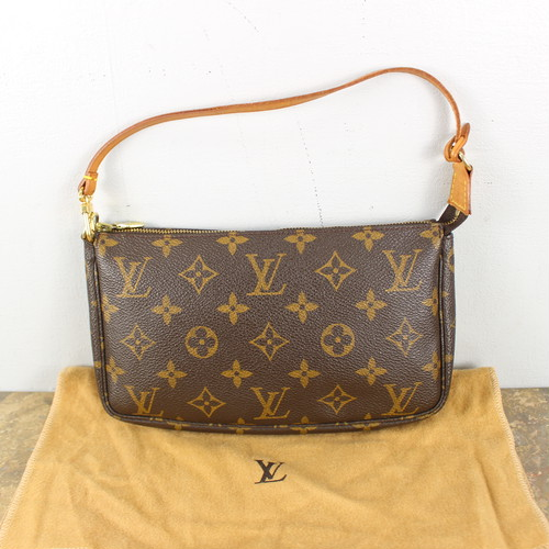 .LOUIS VUITTON M51980 AR0989 MONOGRAM PATTERNED MINI SHOULDER BAG PORCH MADE IN FRANCE/ルイヴィトンアクセソワールモノグラム柄ポーチ 2000000049762