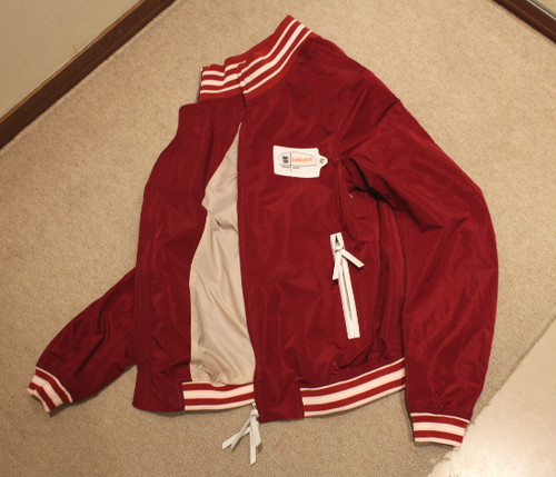 VINTAGELOVERS Drivers Blouson Red