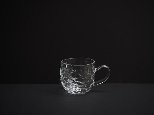 glass atelier えむに ダイアのマグカップ