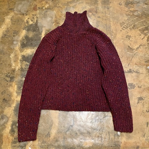 Turtleneck Nep Knit / USA