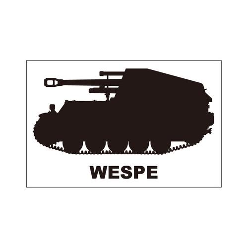 戦車ステッカー ヴェスペ