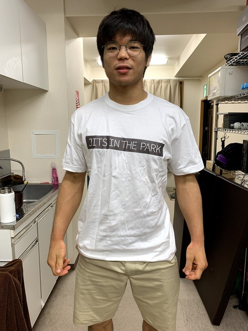 JITS IN THE PARK Tシャツ 白・黒 S~XL