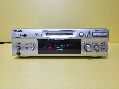 SONY MDS-S39 リモコン付き 録音良好・完動品