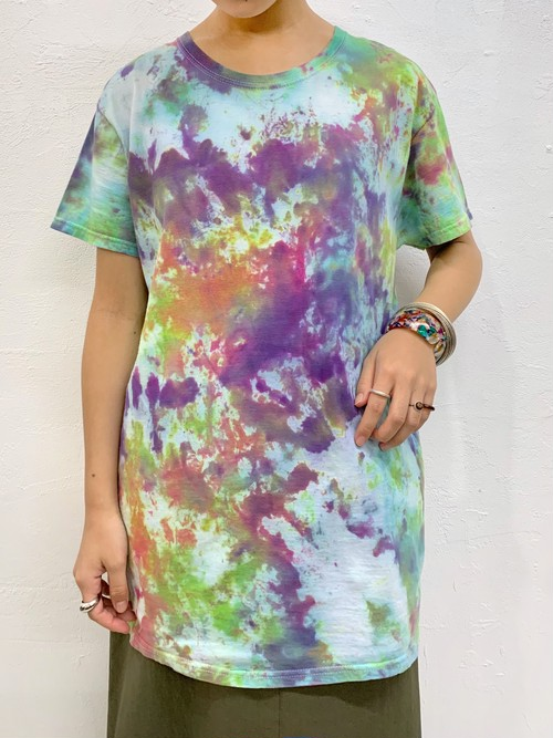 (TOYO) tie-dye T-shirt