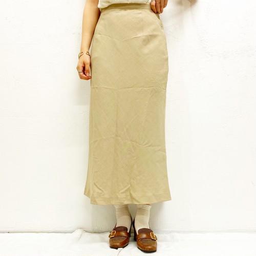 (LOOK) design long skirt