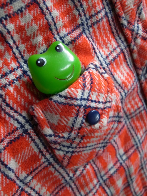 60's レディース物 SHIRT KNIT LTD. Flannel Wool Shirts