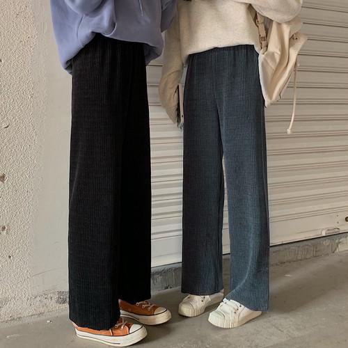 【FAST】リブストレートパンツ #RD5083