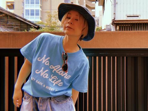 NO ALOHA NO LIFE MAIN LOGO T-shirts/col.mint