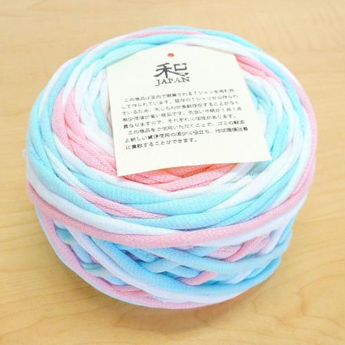 WAcKA iTTo (和) (染)ターコイズ×ピンク 細糸